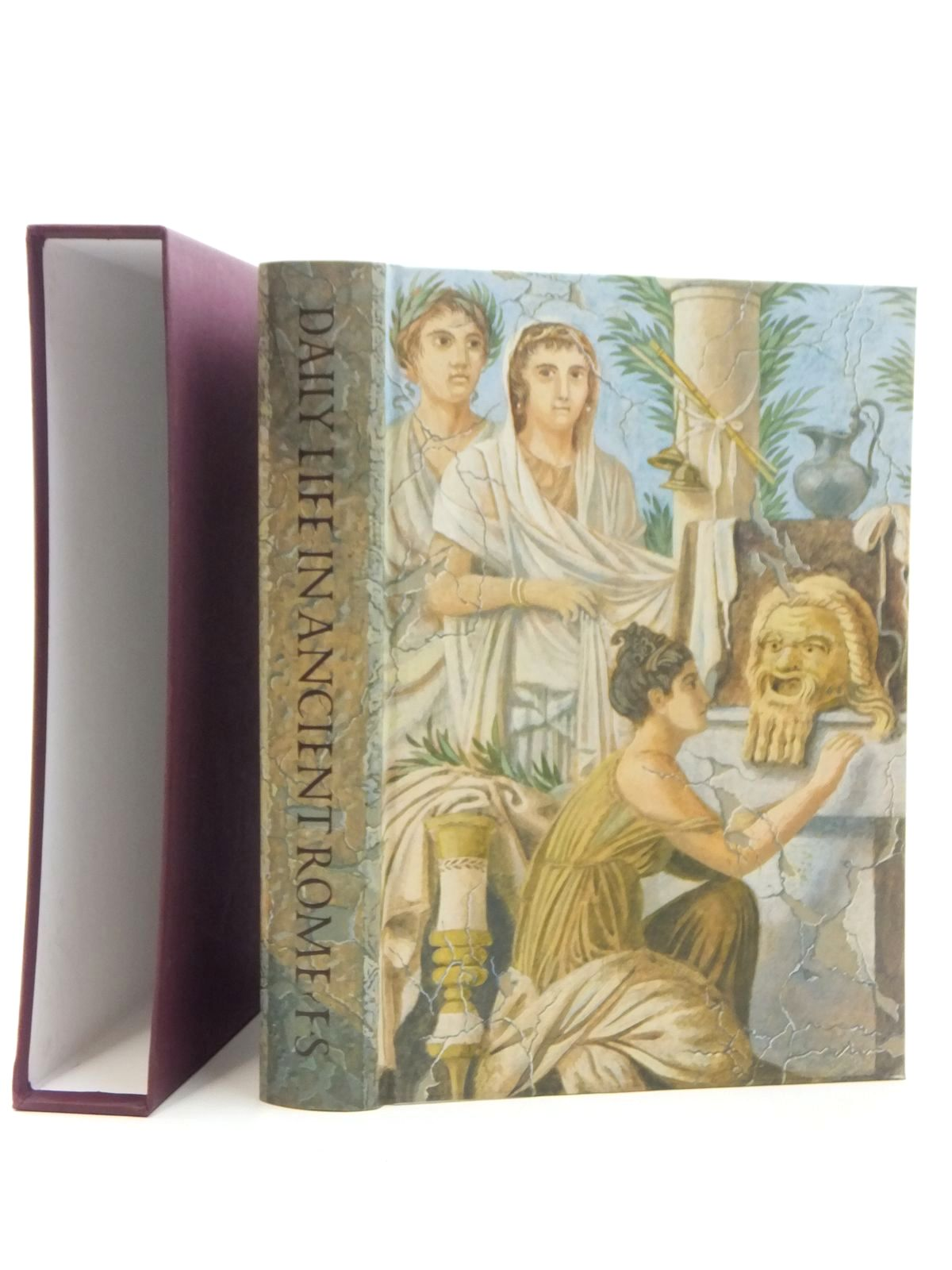 Photo of DAILY LIFE IN ANCIENT ROME written by Carcopino, Jerome<br />Rowell, Henry T.<br />Lorimer, E.O. published by Folio Society (STOCK CODE: 1609643)  for sale by Stella & Rose's Books