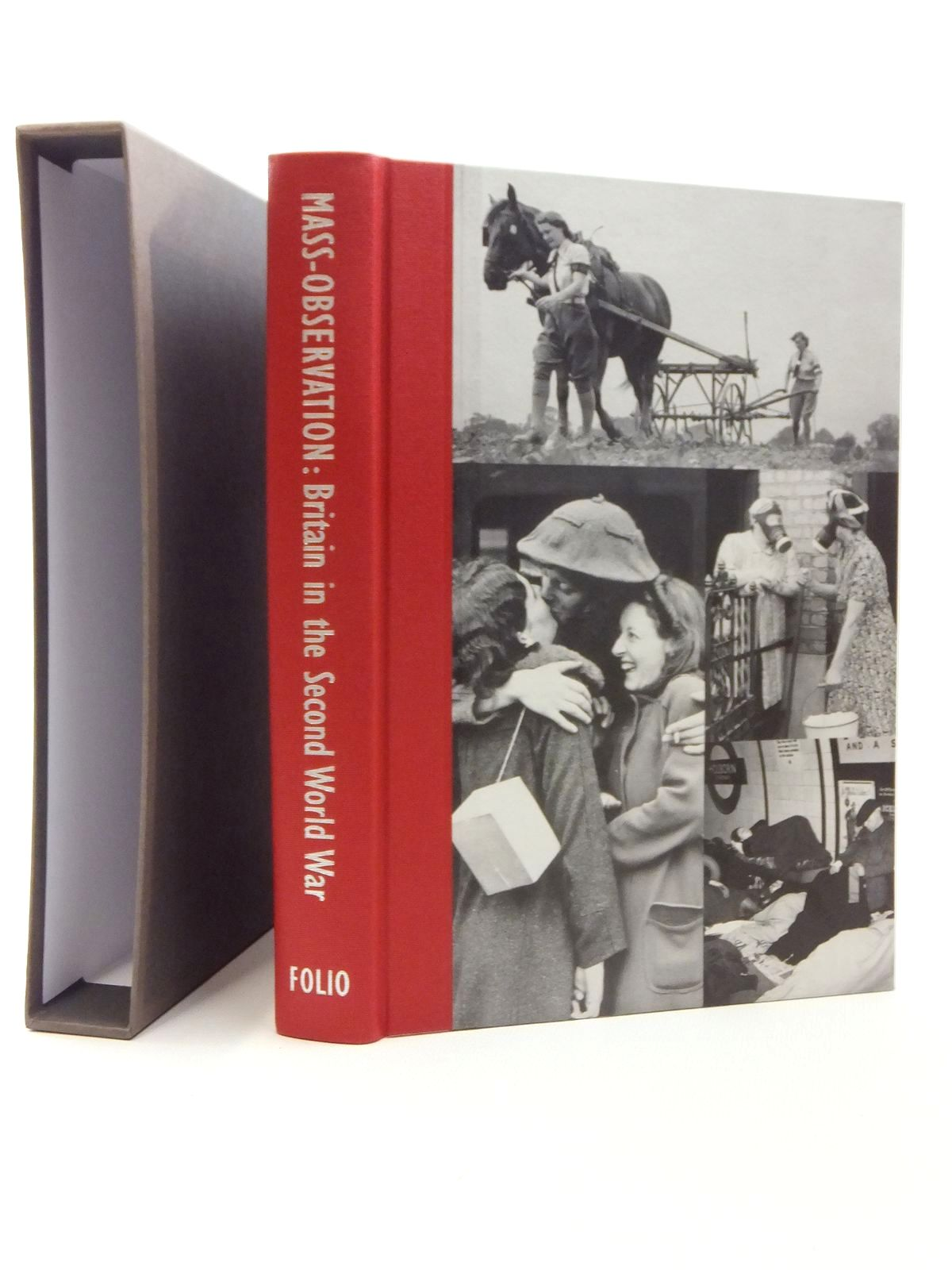 Photo of MASS-OBSERVATION BRITAIN IN THE SECOND WORLD WAR written by Wing, Sandra Koa published by Folio Society (STOCK CODE: 1609647)  for sale by Stella & Rose's Books