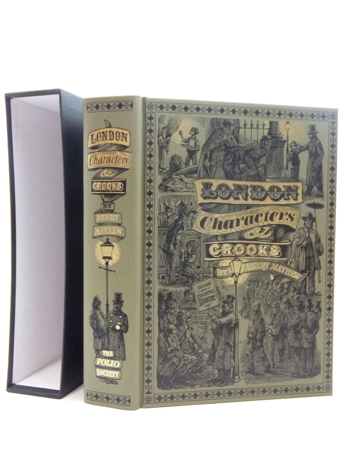 Photo of LONDON CHARACTERS AND CROOKS written by Mayhew, Henry<br />Hibbert, Christopher published by Folio Society (STOCK CODE: 1609677)  for sale by Stella & Rose's Books