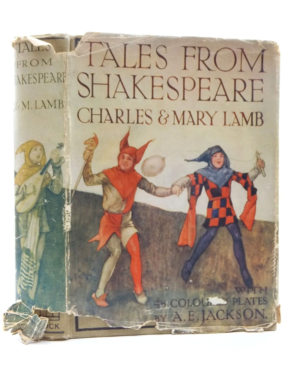 Photo of TALES FROM SHAKESPEARE written by Lamb, Charles<br />Lamb, Mary<br />Shakespeare, William illustrated by Jackson, A.E. published by Ward Lock & Co Ltd. (STOCK CODE: 1609762)  for sale by Stella & Rose's Books