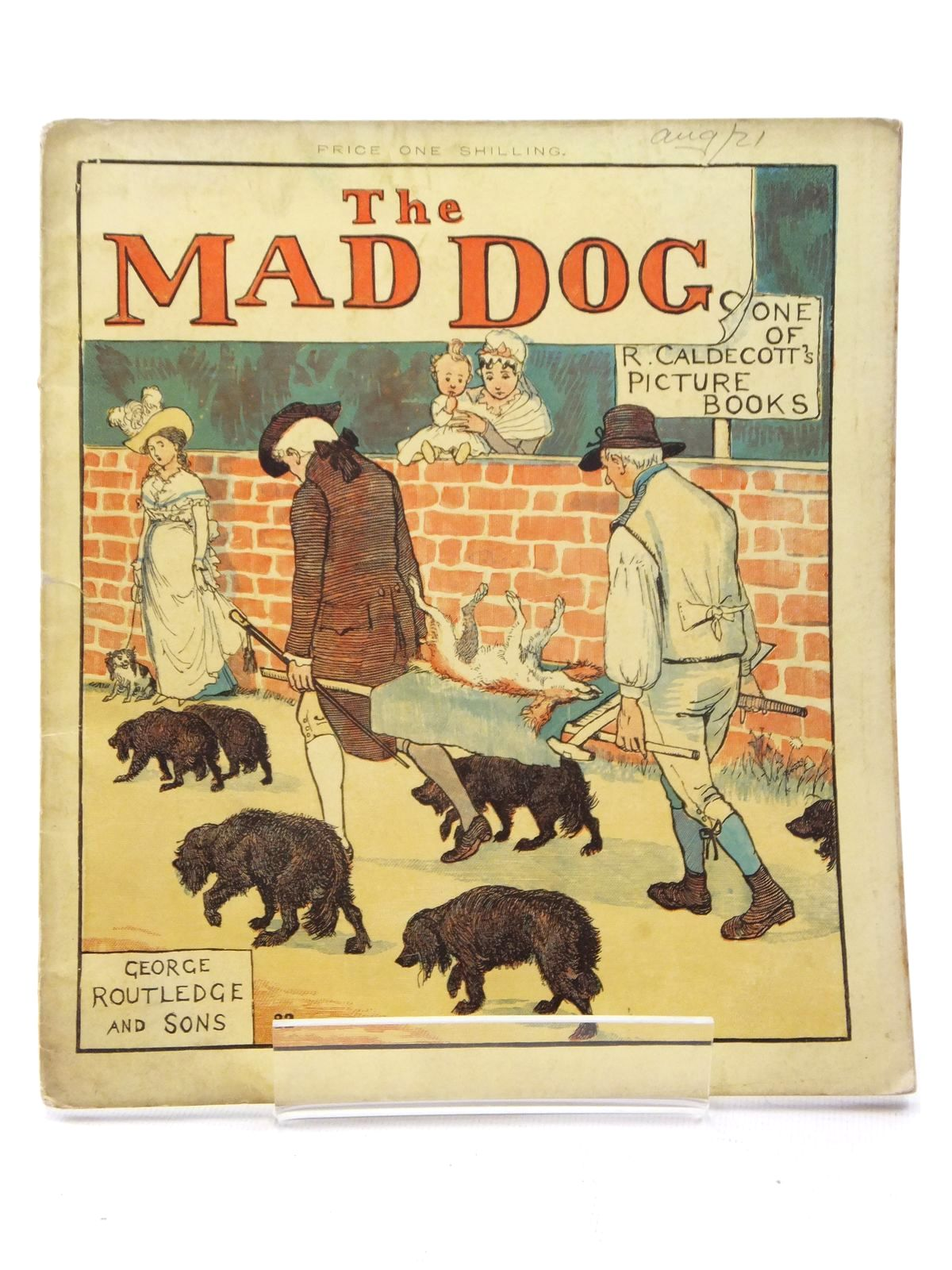 Photo of THE MAD DOG written by Goldsmith, D. illustrated by Caldecott, Randolph published by George Routledge & Sons (STOCK CODE: 1609777)  for sale by Stella & Rose's Books
