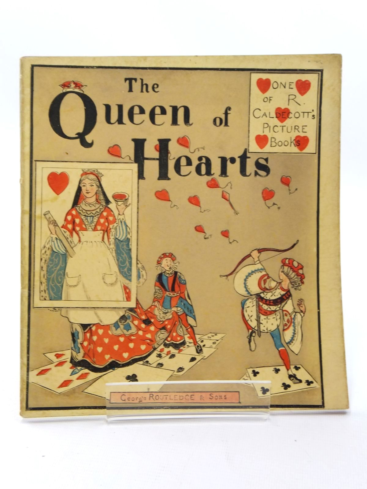 Photo of THE QUEEN OF HEARTS illustrated by Caldecott, Randolph published by George Routledge & Sons (STOCK CODE: 1609778)  for sale by Stella & Rose's Books