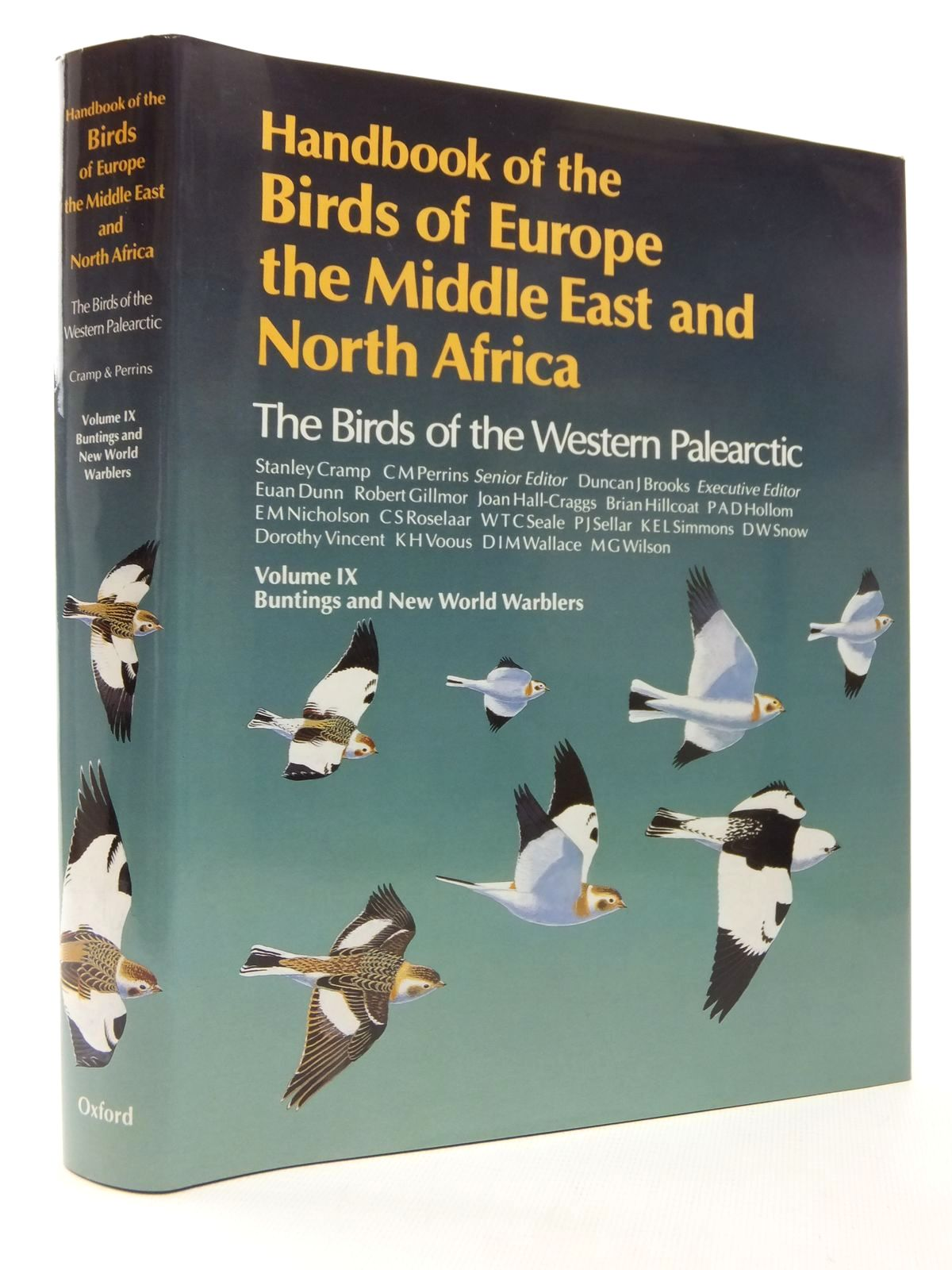 Photo of HANDBOOK OF THE BIRDS OF EUROPE THE MIDDLE EAST AND NORTH AFRICA VOLUME IX written by Cramp, Stanley<br />et al,  published by Oxford University Press (STOCK CODE: 1609798)  for sale by Stella & Rose's Books