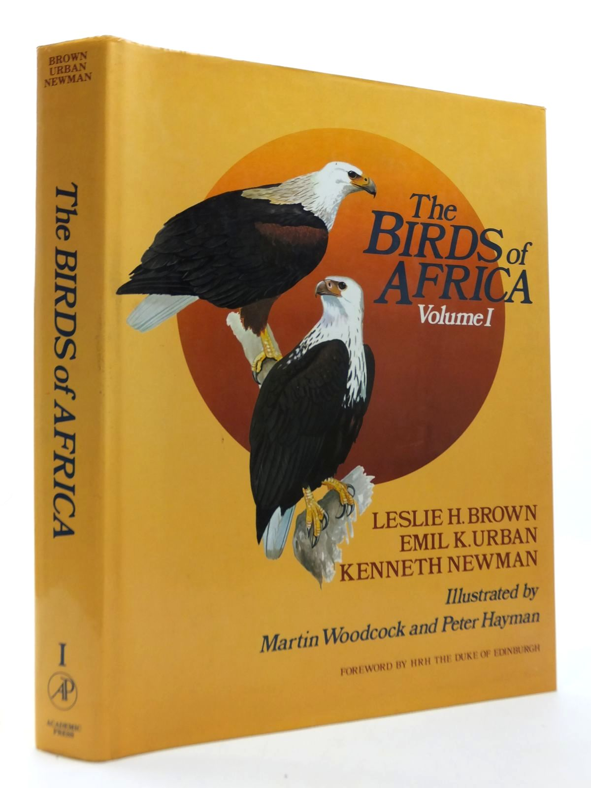 Photo of THE BIRDS OF AFRICA VOLUME I written by Brown, Leslie H.<br />Urban, Emil K.<br />Newman, Kenneth illustrated by Woodcock, Martin<br />Hayman, Peter published by Academic Press (STOCK CODE: 1609818)  for sale by Stella & Rose's Books
