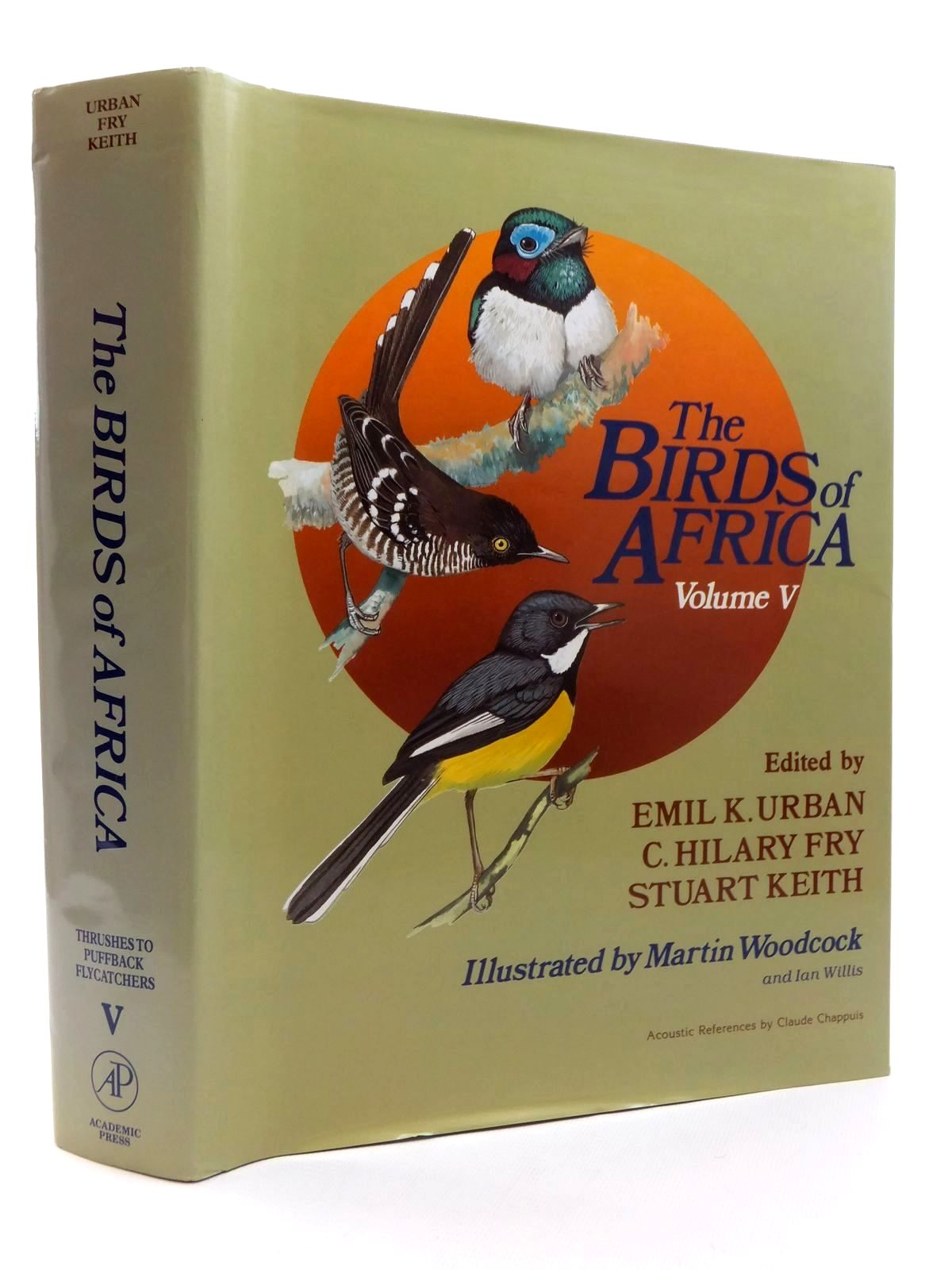 Photo of THE BIRDS OF AFRICA VOLUME V written by Urban, Emil K.<br />Fry, C. Hilary<br />Keith, Stuart illustrated by Woodcock, Martin W.<br />Willis, Ian published by Academic Press (STOCK CODE: 1609826)  for sale by Stella & Rose's Books