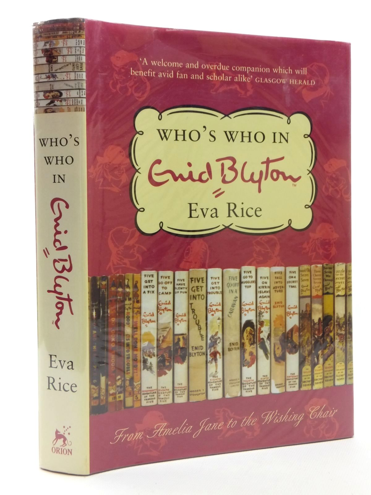 Photo of WHO'S WHO IN ENID BLYTON written by Rice, Eva published by Orion Media (STOCK CODE: 1609871)  for sale by Stella & Rose's Books