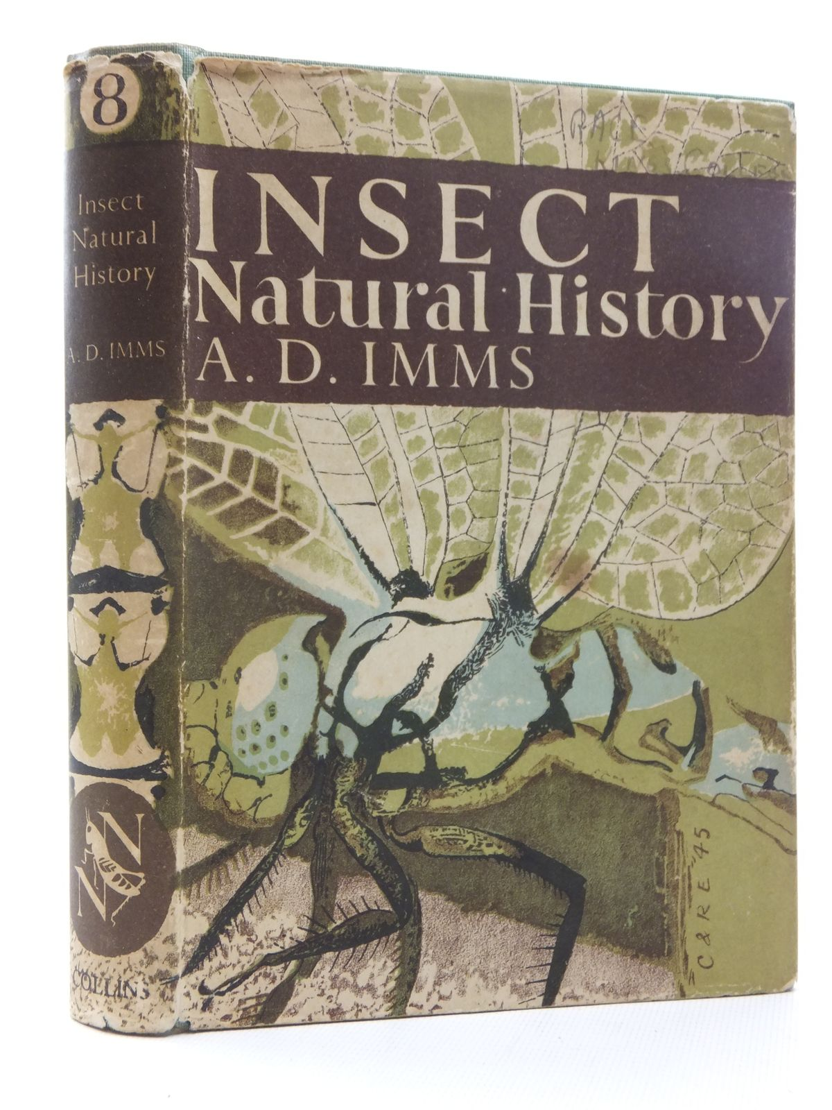 Photo of INSECT NATURAL HISTORY (NN 8) written by Imms, A.D. published by Collins (STOCK CODE: 1610071)  for sale by Stella & Rose's Books