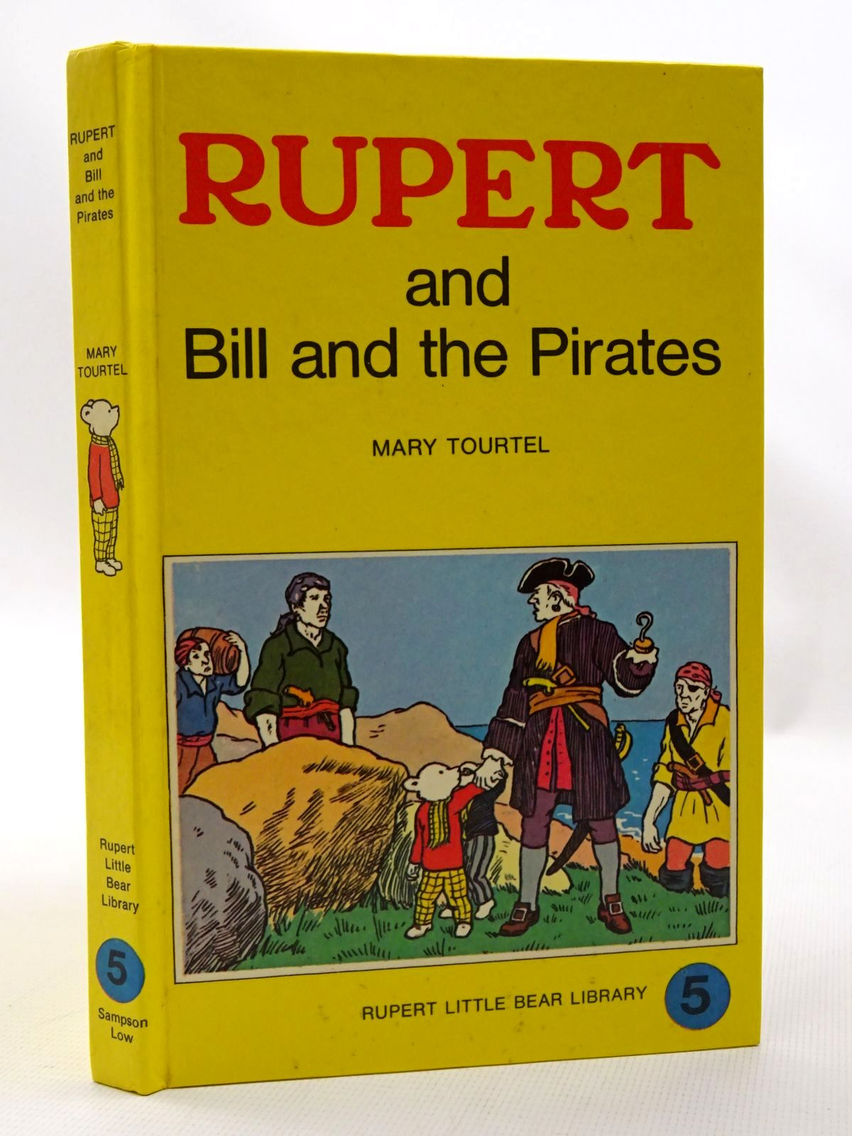 Photo of RUPERT AND BILL AND THE PIRATES - RUPERT LITTLE BEAR LIBRARY No. 5 (WOOLWORTH) written by Tourtel, Mary published by Sampson Low, Marston & Co. Ltd. (STOCK CODE: 1610118)  for sale by Stella & Rose's Books