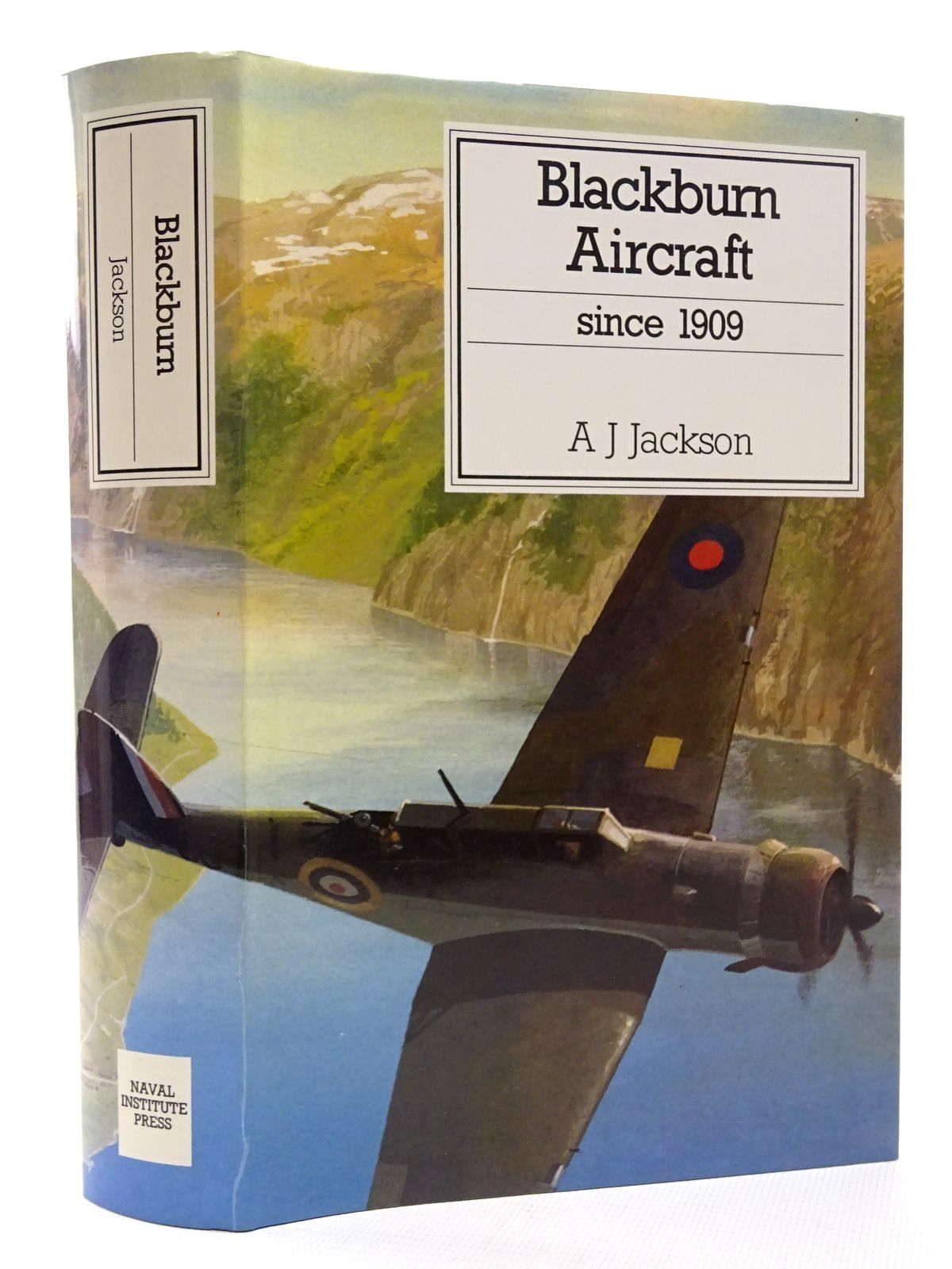 Photo of BLACKBURN AIRCRAFT SINCE 1909 written by Jackson, A.J. published by Naval Institute Press (STOCK CODE: 1610127)  for sale by Stella & Rose's Books