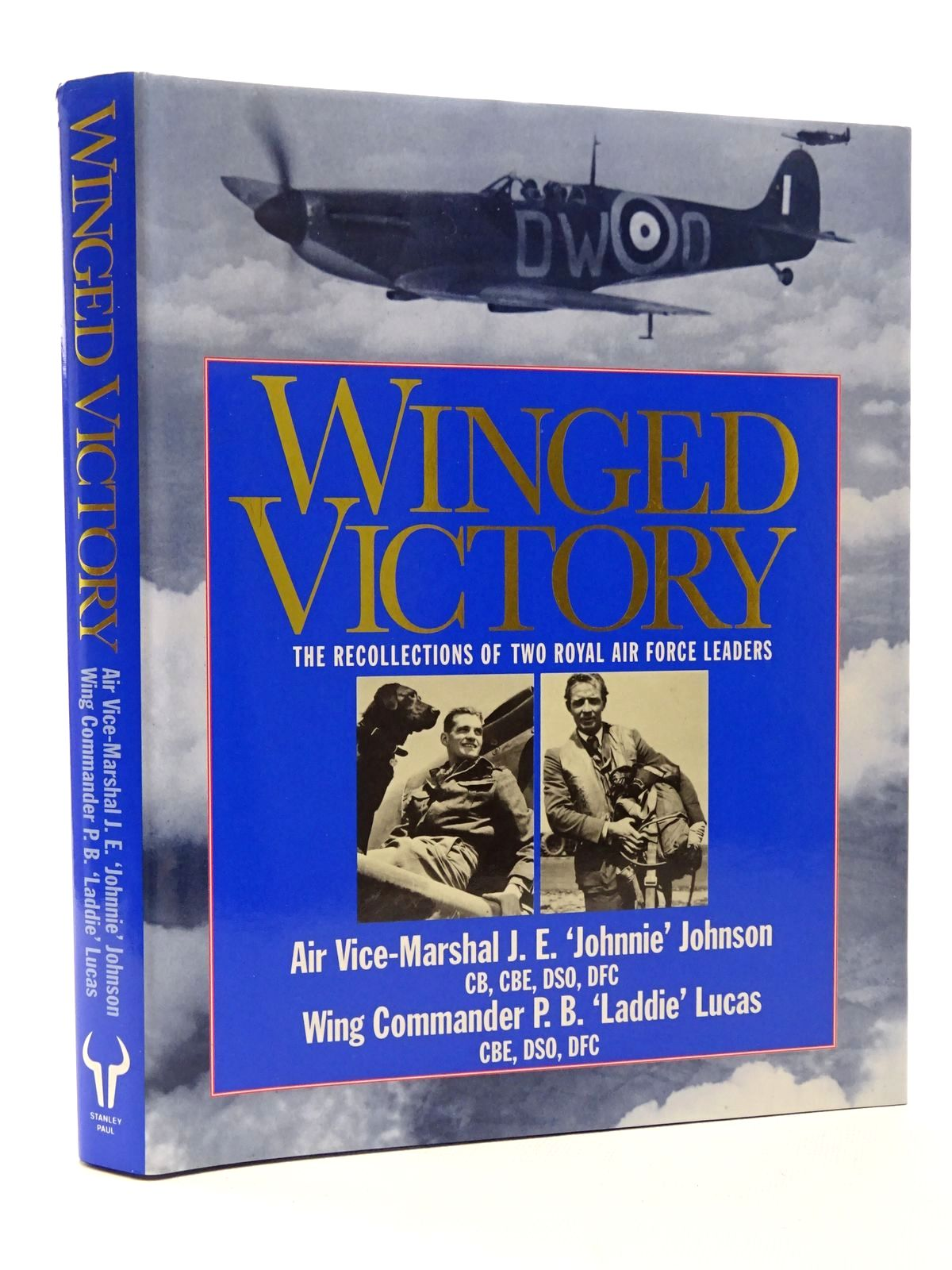 Photo of WINGED VICTORY written by Johnson, Johnnie<br />Lucas, P.B. published by Stanley Paul (STOCK CODE: 1610150)  for sale by Stella & Rose's Books