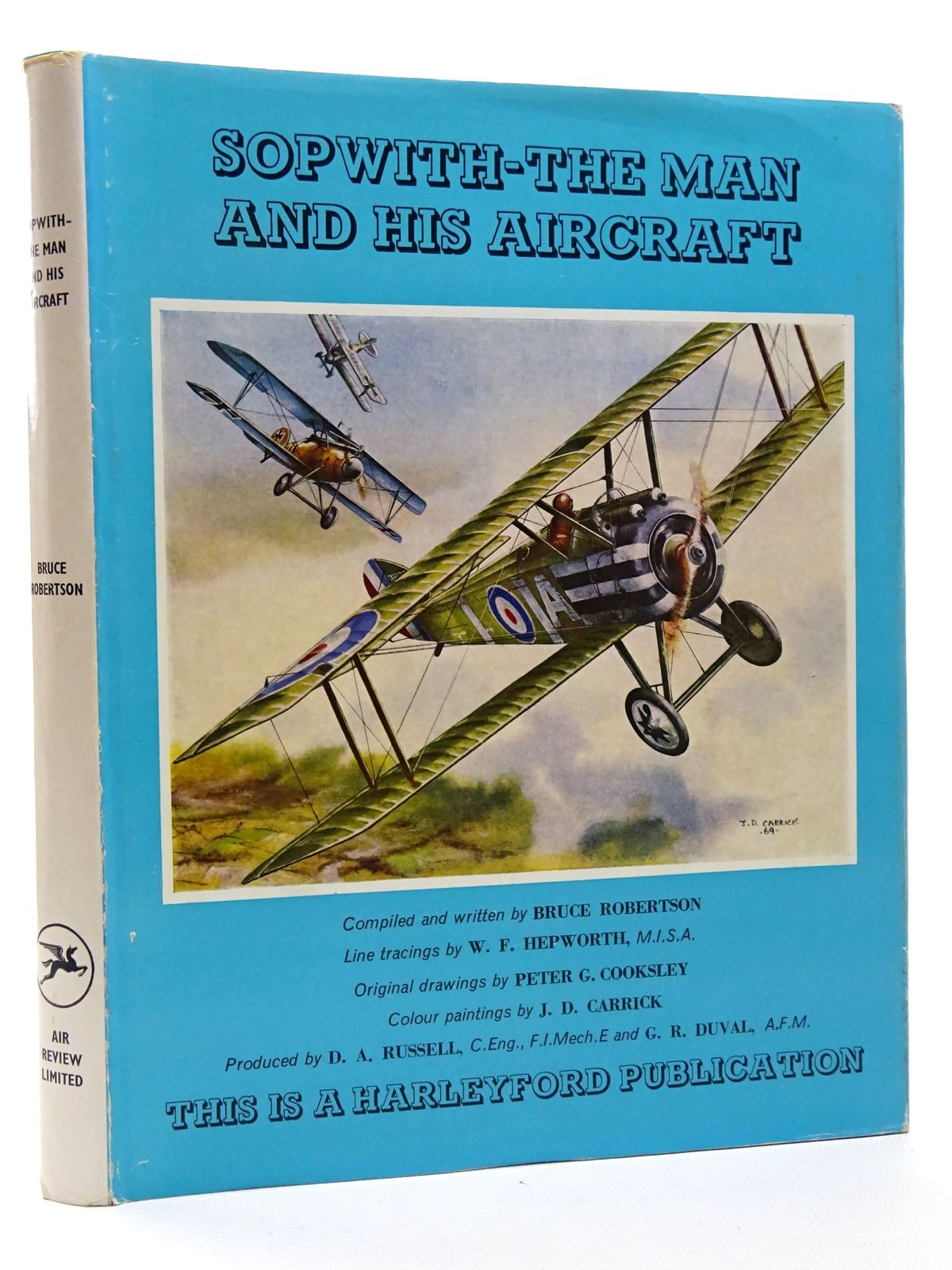 Photo of SOPWITH - THE MAN AND HIS AIRCRAFT written by Robertson, Bruce illustrated by Carrick, J.D.<br />Cooksley, Peter G.<br />Hepworth, W.F. published by Air Review Ltd. (STOCK CODE: 1610157)  for sale by Stella & Rose's Books