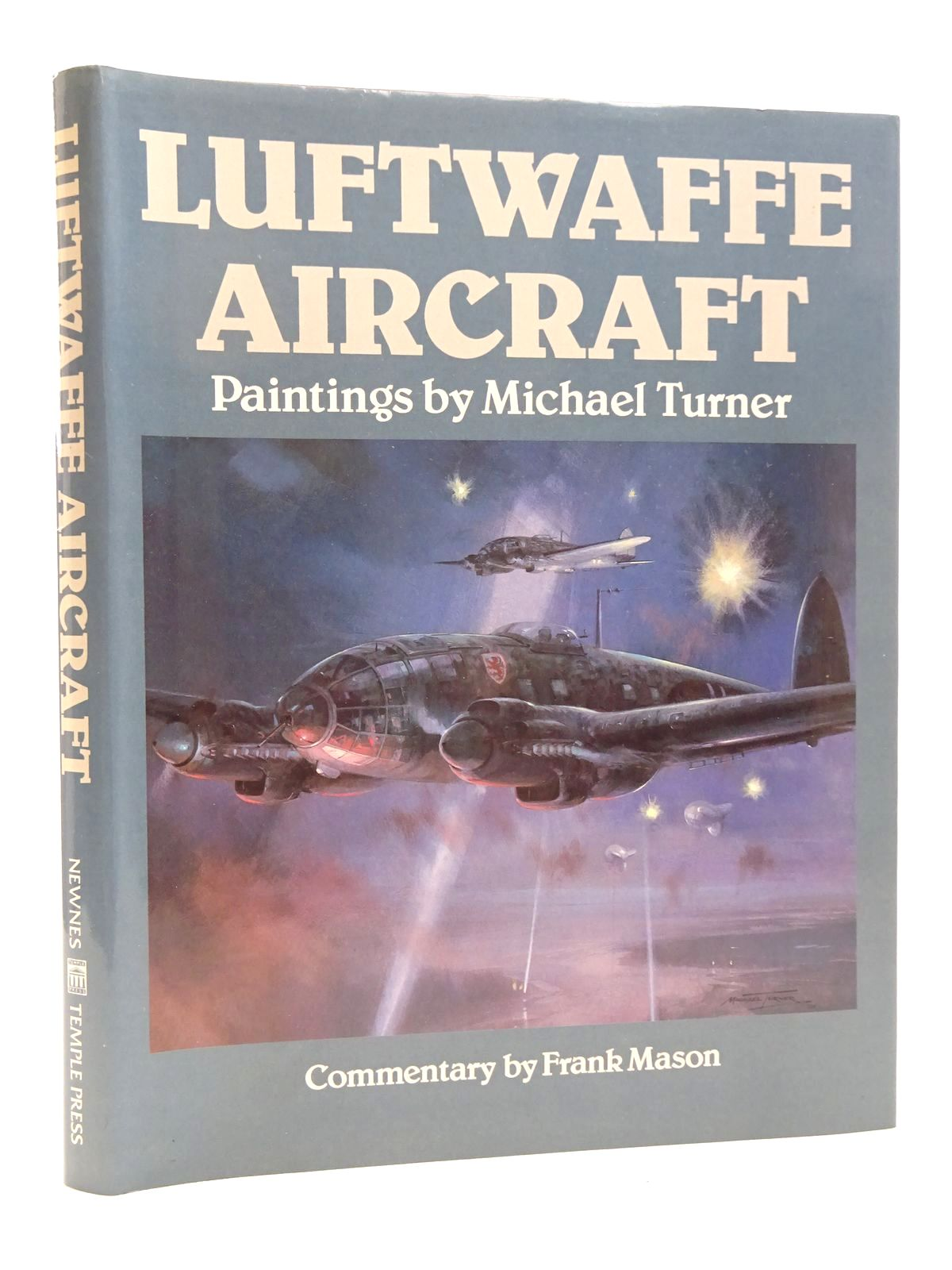 Photo of LUFTWAFFE AIRCRAFT written by Mason, Frank illustrated by Turner, Michael published by Newnes (STOCK CODE: 1610166)  for sale by Stella & Rose's Books