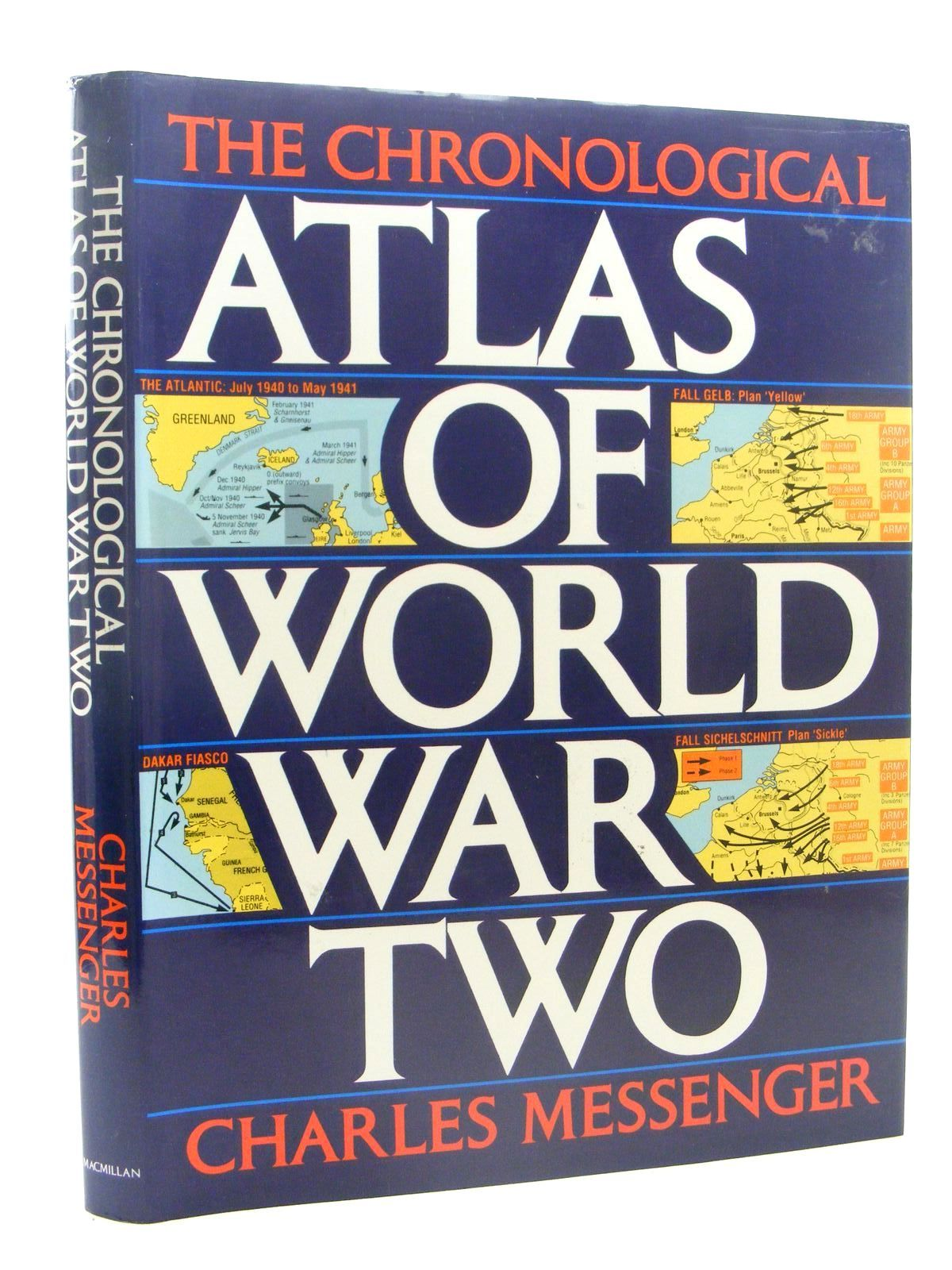 Photo of THE CHRONOLOGICAL ATLAS OF WORLD WAR TWO written by Messenger, Charles published by Macmillan Publishing Co. (STOCK CODE: 1610286)  for sale by Stella & Rose's Books