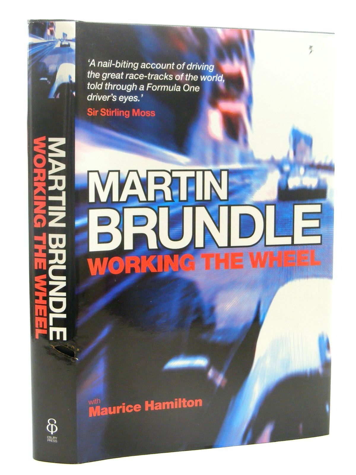Photo of WORKING THE WHEEL written by Brundle, Martin<br />Hamilton, Maurice published by Ebury Press (STOCK CODE: 1610329)  for sale by Stella & Rose's Books