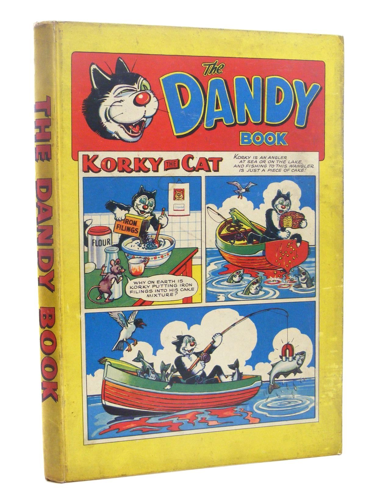 Photo of THE DANDY BOOK 1958 published by D.C. Thomson & Co Ltd. (STOCK CODE: 1610348)  for sale by Stella & Rose's Books