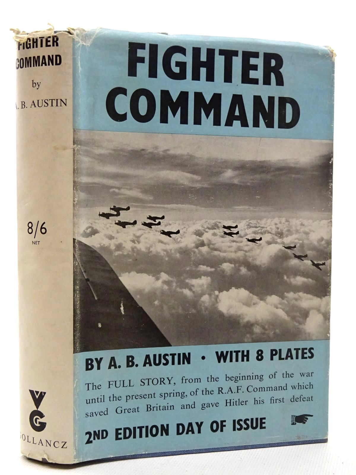 Photo of FIGHTER COMMAND written by Austin, A.B. published by Victor Gollancz Ltd. (STOCK CODE: 1610385)  for sale by Stella & Rose's Books