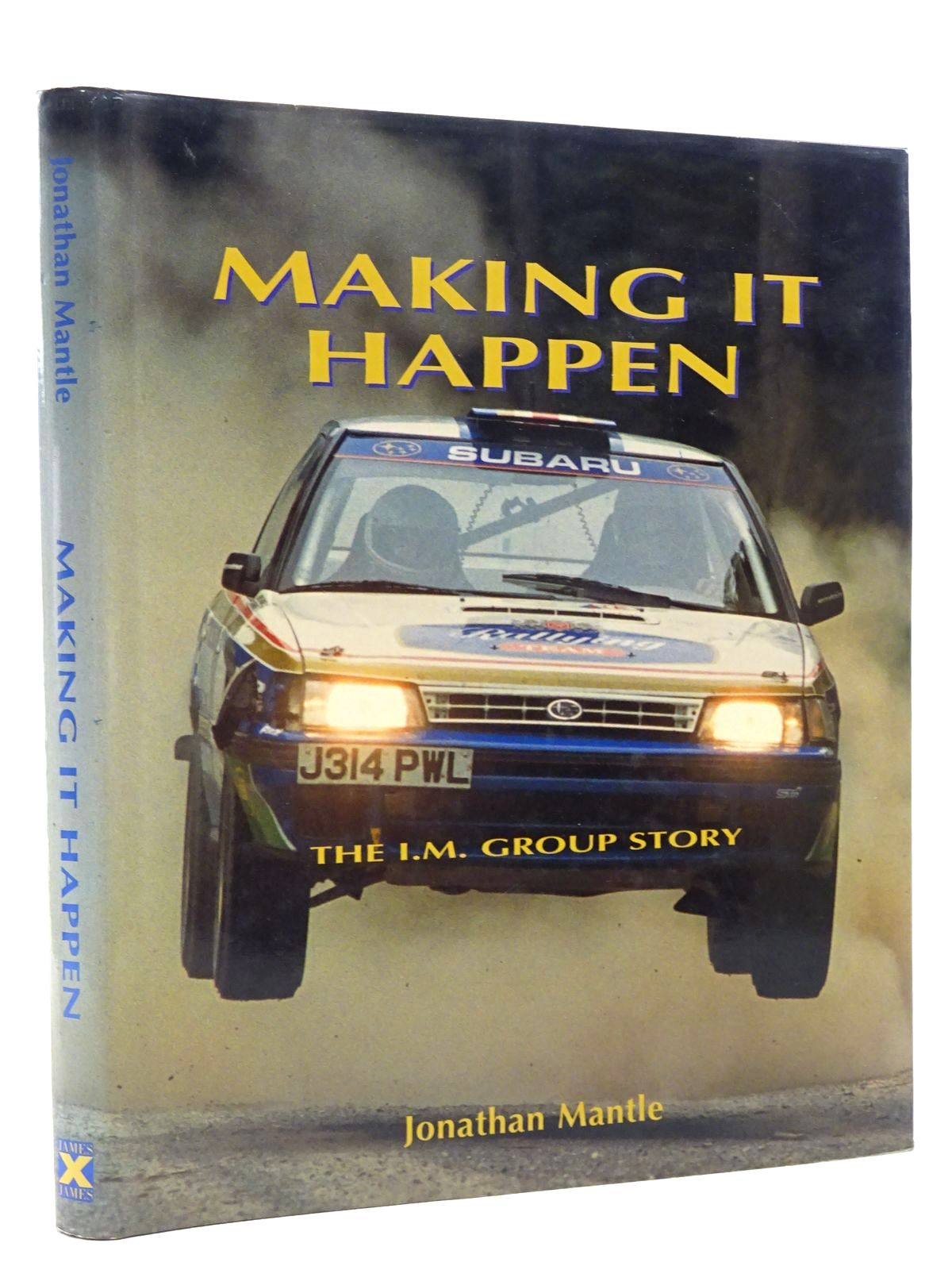 Photo of MAKING IT HAPPEN written by Mantle, Jonathan published by James & James (STOCK CODE: 1610413)  for sale by Stella & Rose's Books