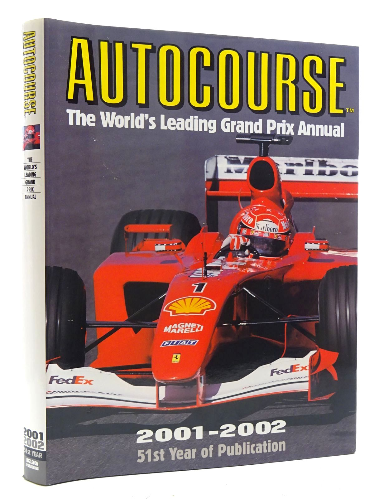 Photo of AUTOCOURSE 2001-2002 written by Henry, Alan published by Hazleton Publishing (STOCK CODE: 1610473)  for sale by Stella & Rose's Books