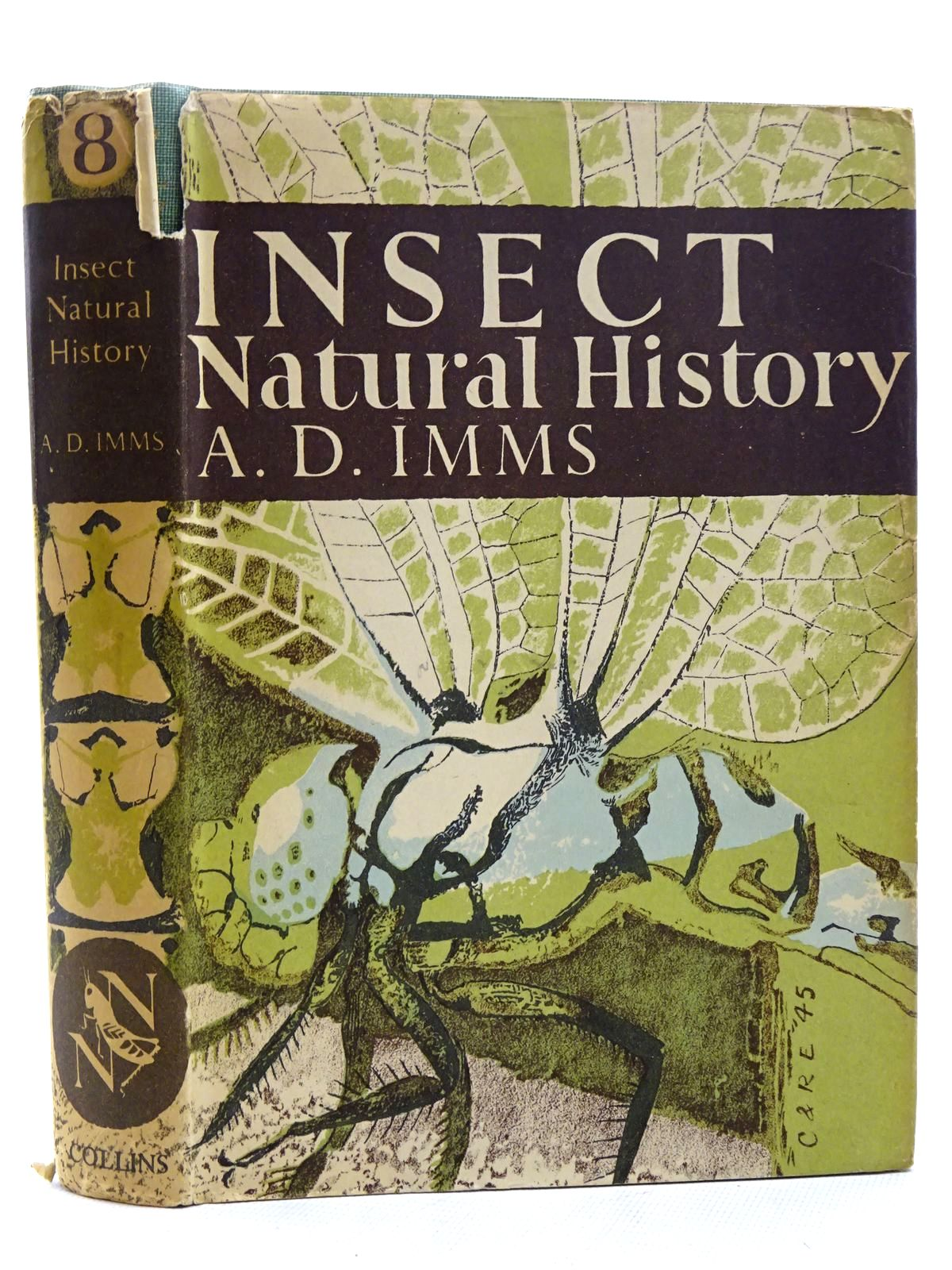 Photo of INSECT NATURAL HISTORY (NN 8) written by Imms, A.D. published by Collins (STOCK CODE: 1610509)  for sale by Stella & Rose's Books