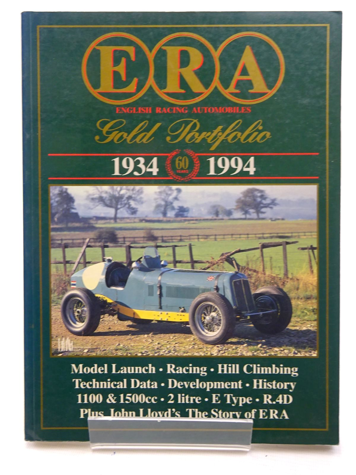Photo of ERA ENGLISH RACING AUTOMOBILES GOLD PORTFOLIO 1934 1994 written by Clarke, R.M. published by Brooklands Books (STOCK CODE: 1610552)  for sale by Stella & Rose's Books