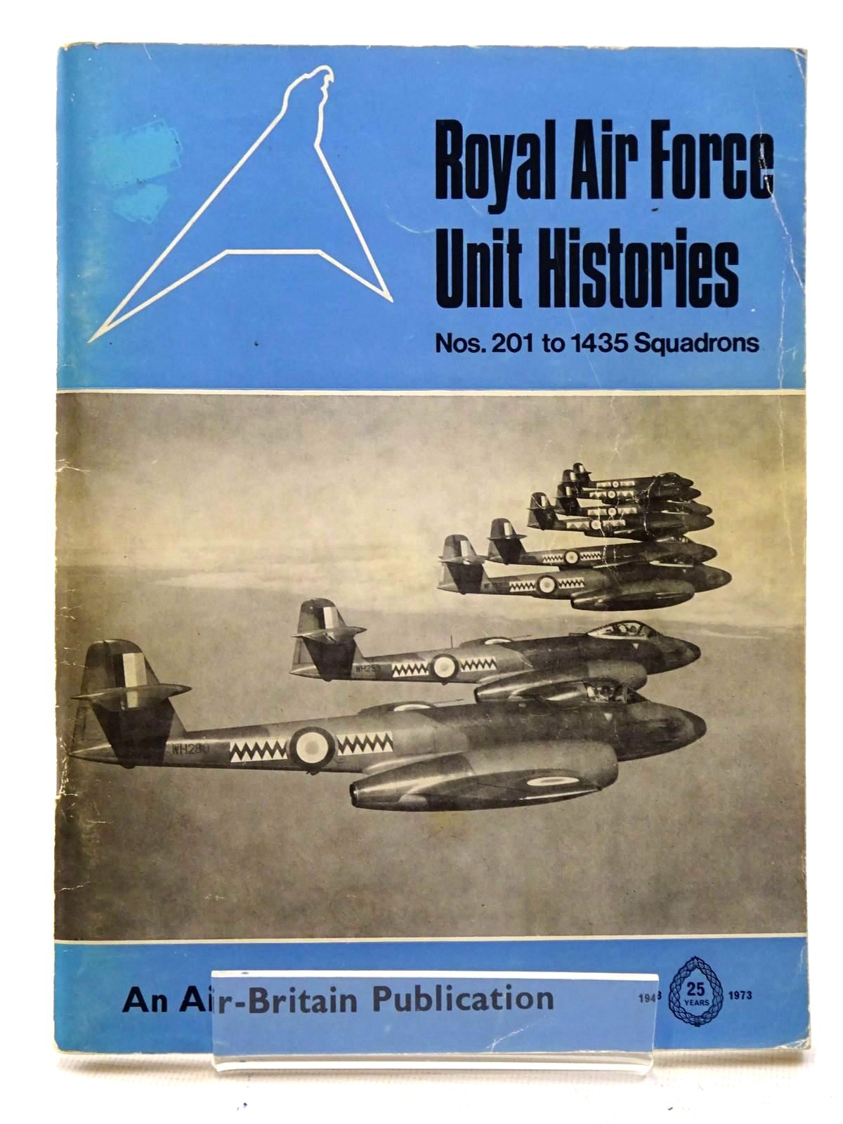 Photo of ROYAL AIR FORCE UNIT HISTORIES VOLUME 2 NOS. 201 TO 1435 SQUADRONS written by Halley, James J. published by Air-Britain (historians) Ltd. (STOCK CODE: 1610631)  for sale by Stella & Rose's Books