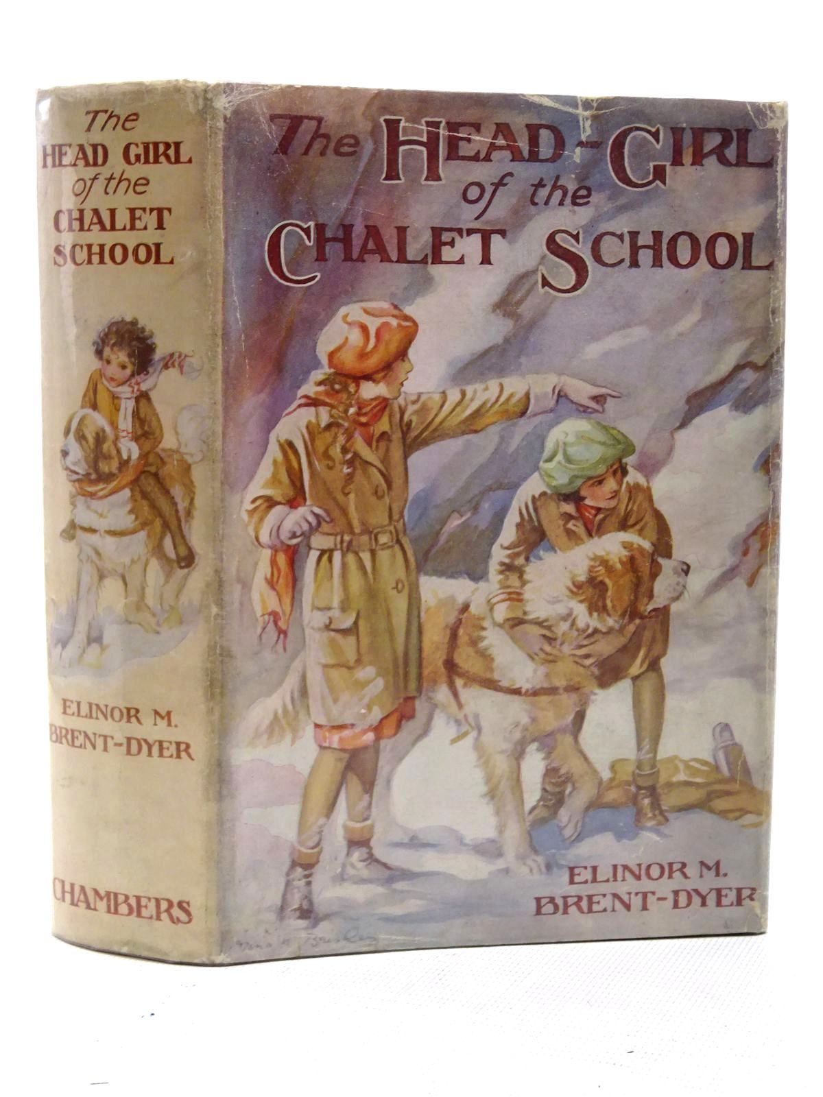 Photo of THE HEAD GIRL OF THE CHALET SCHOOL written by Brent-Dyer, Elinor M. illustrated by Brisley, Nina K. published by W. & R. Chambers Limited (STOCK CODE: 1610638)  for sale by Stella & Rose's Books