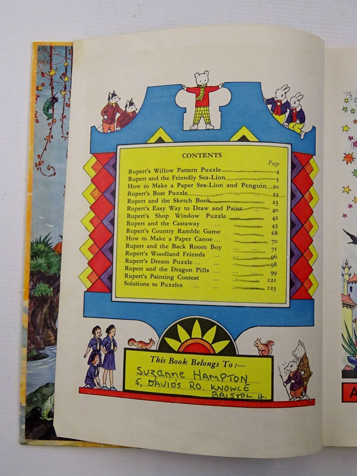 Photo of RUPERT ANNUAL 1954 - THE NEW RUPERT written by Bestall, Alfred illustrated by Bestall, Alfred published by Daily Express (STOCK CODE: 1610646)  for sale by Stella & Rose's Books