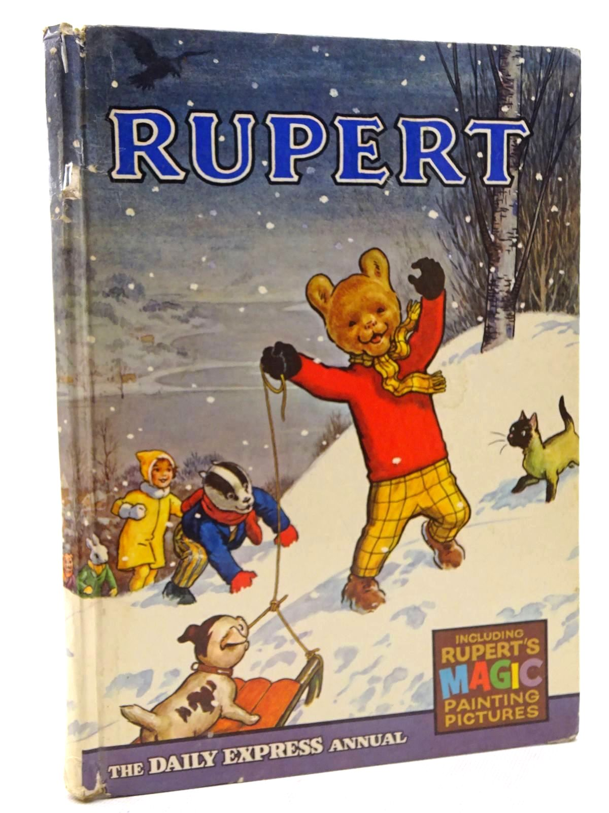 Photo of RUPERT ANNUAL 1967 written by Bestall, Alfred illustrated by Bestall, Alfred published by Daily Express (STOCK CODE: 1610694)  for sale by Stella & Rose's Books
