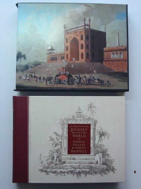 Photo of AN ILLUSTRATED JOURNEY ROUND THE WORLD written by Daniell, Thomas<br />Daniell, Samuel<br />Daniell, William<br />Prior, Katherine illustrated by Daniell, Samuel<br />Daniell, Thomas<br />Daniell, William published by Folio Society (STOCK CODE: 1701346)  for sale by Stella & Rose's Books