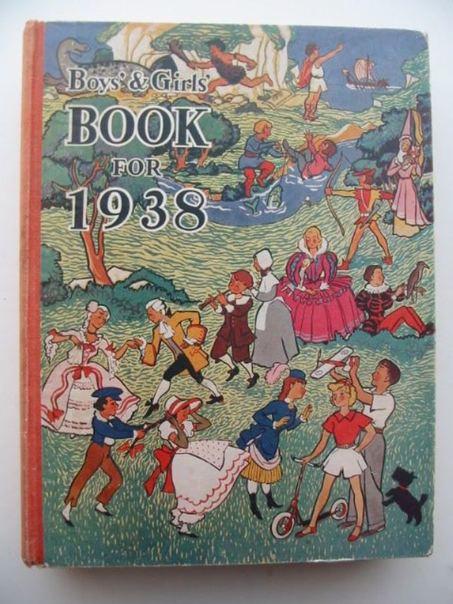 Photo of BOYS' & GIRLS' BOOK FOR 1938- Stock Number: 1701504