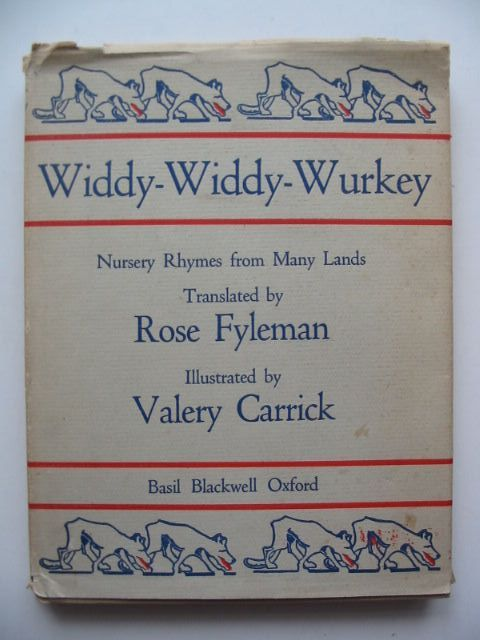 Photo of WIDDY-WIDDY-WURKEY written by Fyleman, Rose illustrated by Carrick, Valery published by Basil Blackwell (STOCK CODE: 1701536)  for sale by Stella & Rose's Books
