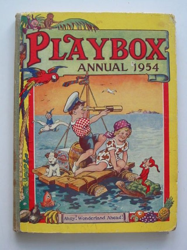 Photo of PLAYBOX ANNUAL 1954 published by The Fleetway House (STOCK CODE: 1701649)  for sale by Stella & Rose's Books