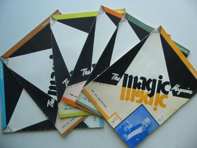 Photo of THE MAGIC MAGAZINE VOL 5 (6 ISSUES) 1956