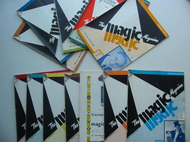 Photo of THE MAGIC MAGAZINE VOL 2 (12 ISSUES) 1953/1954