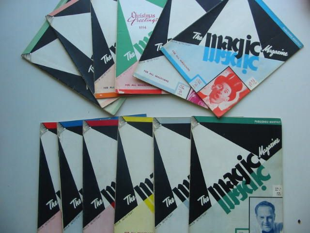 Photo of THE MAGIC MAGAZINE VOL 3 (12 ISSUES) 1954/1955