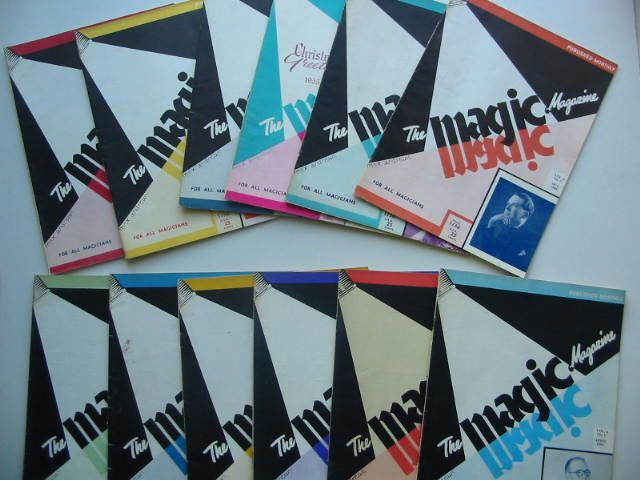 Photo of THE MAGIC MAGAZINE VOL 4 (12 ISSUES) 1955/1956