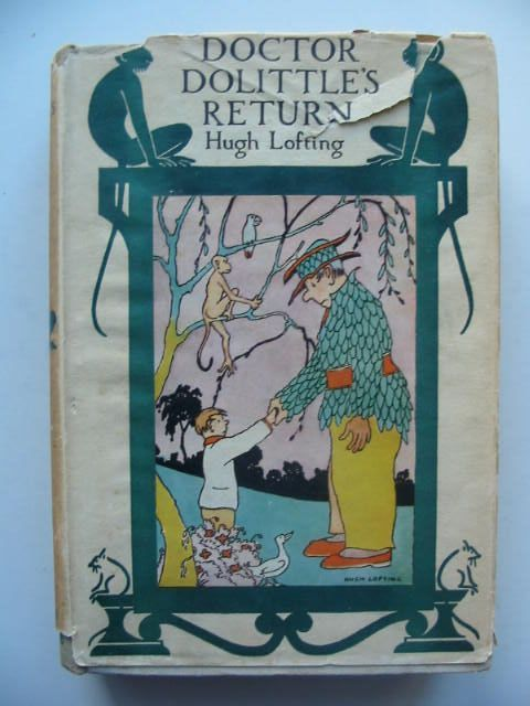 Photo of DOCTOR DOLITTLE'S RETURN written by Lofting, Hugh illustrated by Lofting, Hugh published by Jonathan Cape (STOCK CODE: 1702385)  for sale by Stella & Rose's Books