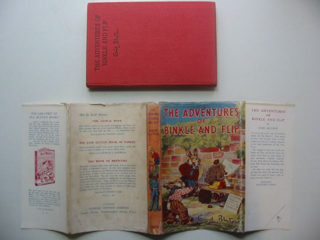 Photo of THE ADVENTURES OF BINKLE AND FLIP written by Blyton, Enid illustrated by Nixon, Kathleen published by George Newnes Limited (STOCK CODE: 1702597)  for sale by Stella & Rose's Books
