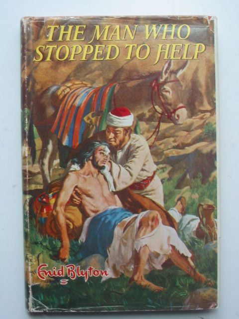 Photo of THE MAN WHO STOPPED TO HELP written by Blyton, Enid illustrated by Walker, Elsie published by Lutterworth Press (STOCK CODE: 1702645)  for sale by Stella & Rose's Books