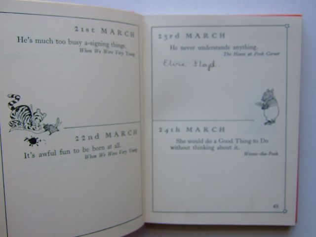 Photo of THE CHRISTOPHER ROBIN BIRTHDAY BOOK written by Milne, A.A. illustrated by Shepard, E.H. published by Methuen & Co. Ltd. (STOCK CODE: 1703840)  for sale by Stella & Rose's Books