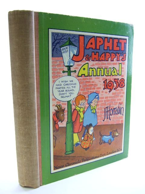 Photo of JAPHET AND HAPPY'S ANNUAL 1938 written by Horrabin, J.F. illustrated by Horrabin, J.F. published by News Chronicle Publications (STOCK CODE: 1704362)  for sale by Stella & Rose's Books