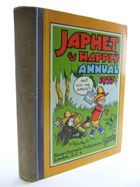Photo of JAPHET AND HAPPY'S ANNUAL 1937 written by Horrabin, J.F. illustrated by Horrabin, J.F. published by News Chronicle (STOCK CODE: 1704363)  for sale by Stella & Rose's Books