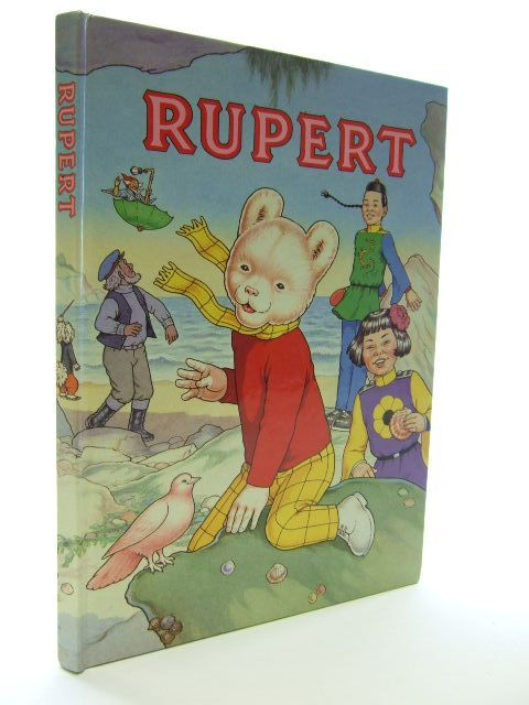 Photo of RUPERT ANNUAL 1991 written by Henderson, James<br />Robinson, Ian illustrated by Harrold, John<br />Bestall, Alfred published by Daily Express (STOCK CODE: 1704553)  for sale by Stella & Rose's Books
