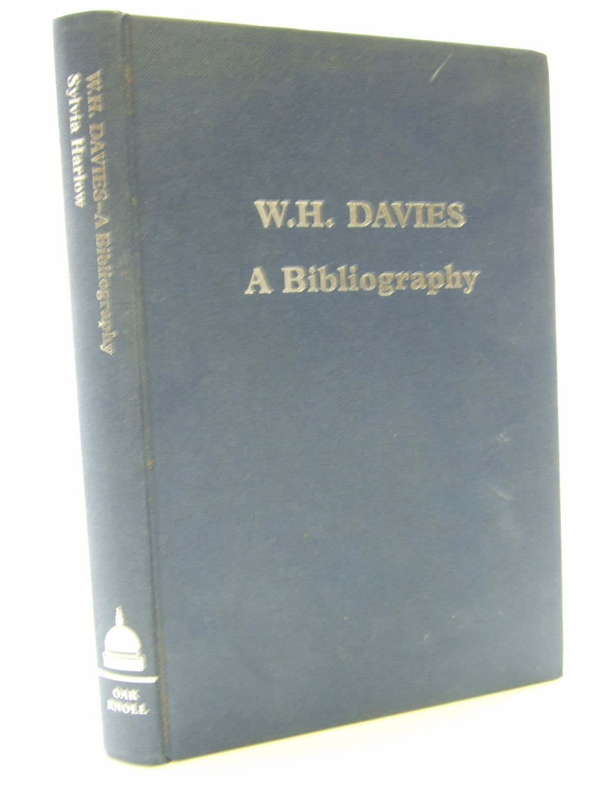 Photo of W.H. DAVIES A BIBLIOGRAPHY written by Harlow, Sylvia published by St Paul's Bibliographies, Oak Knoll Press (STOCK CODE: 1705865)  for sale by Stella & Rose's Books