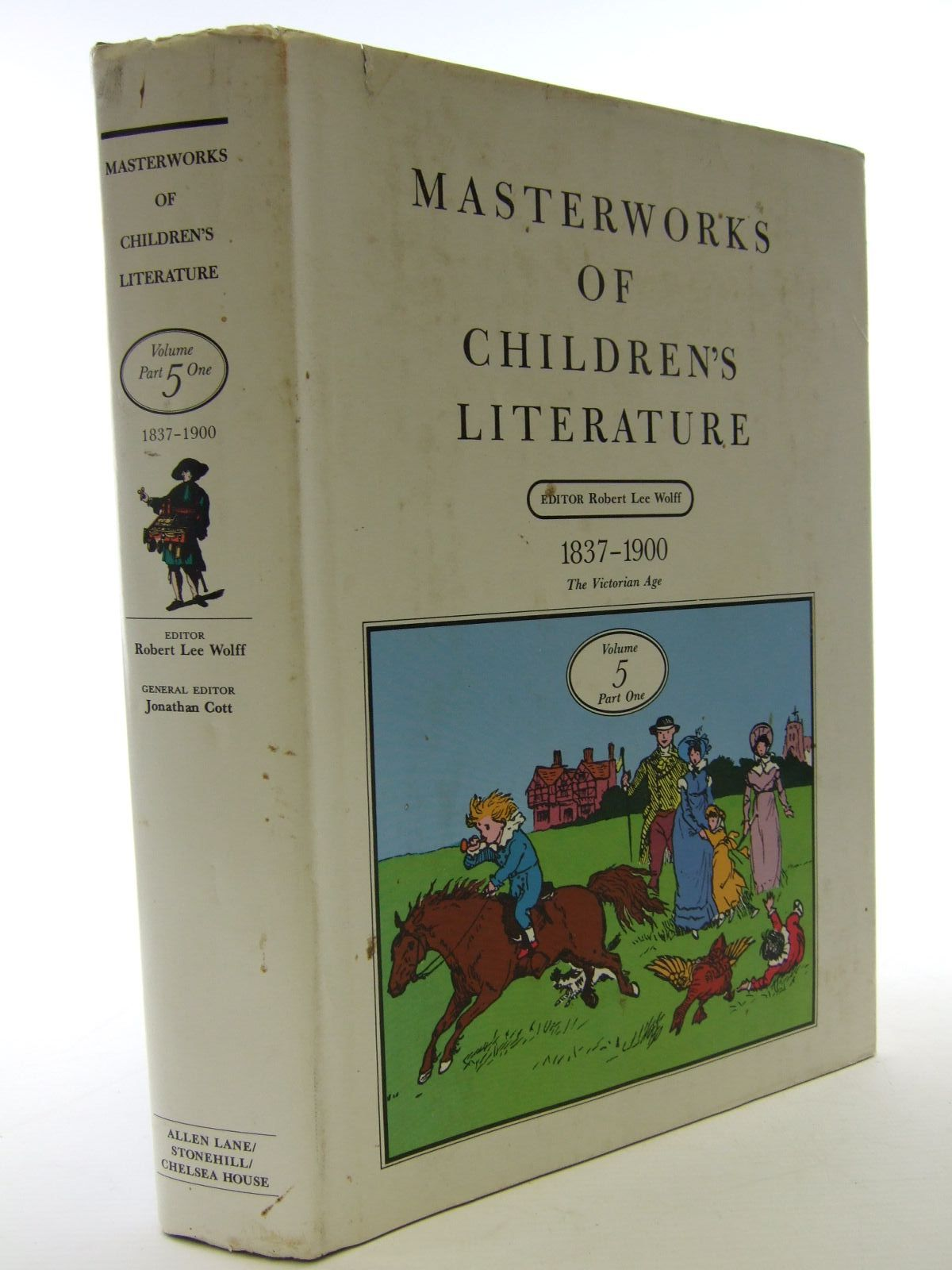 Photo of MASTERWORKS OF CHILDREN'S LITERATURE VOLUME 5 PART 1 1837-1900 VICTORIAN AGE written by Wolff, Robert Lee<br />et al,  published by Chelsea House Publishers, The Stonehill Publishing Company, Allen Lane (STOCK CODE: 1705873)  for sale by Stella & Rose's Books