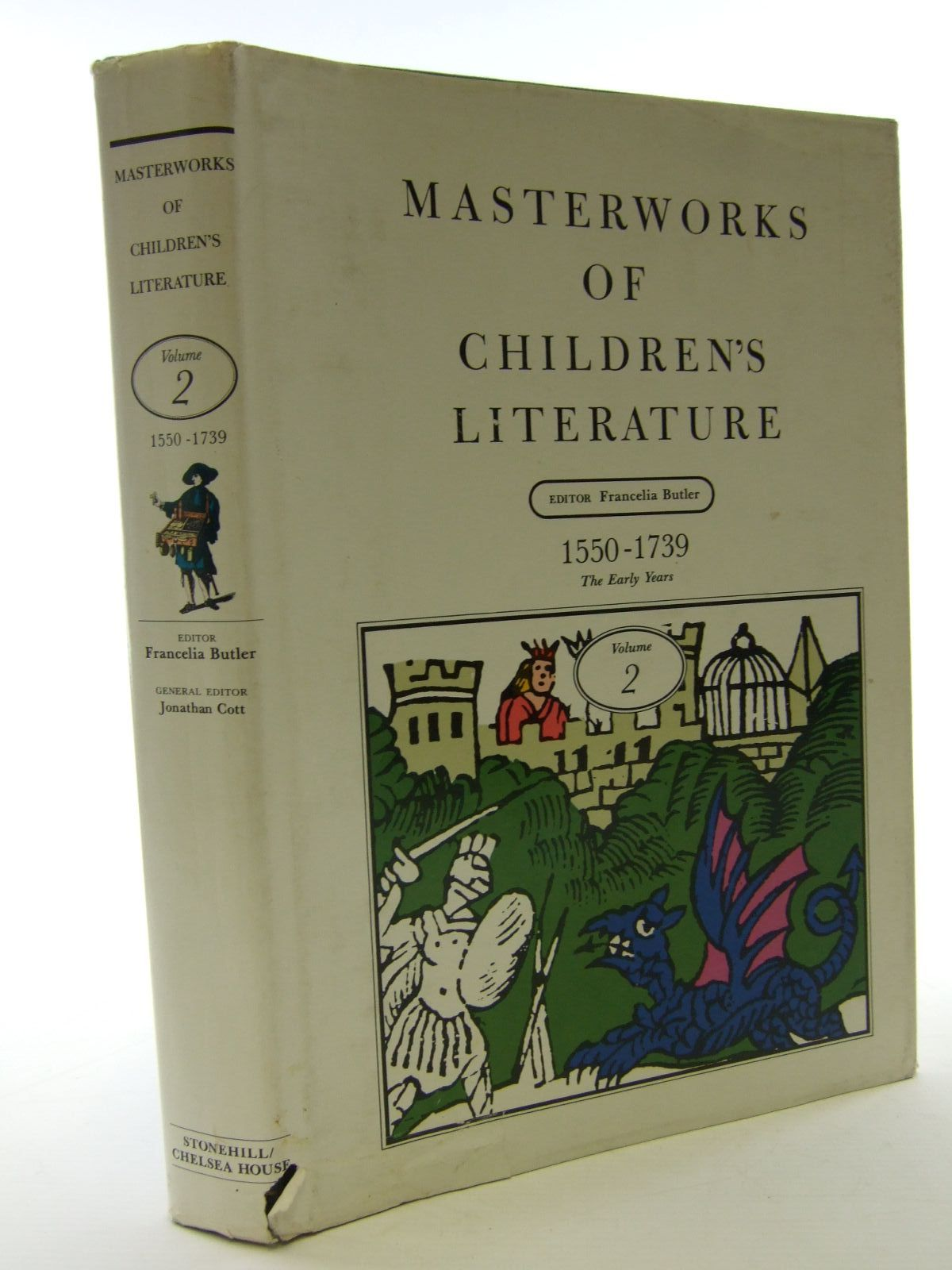 Photo of MASTERWORKS OF CHILDREN'S LITERATURE VOLUME 2 1550-1739 THE EARLY YEARS written by Butler, Francelia<br />et al,  published by Chelsea House Publishers, The Stonehill Publishing Company (STOCK CODE: 1705874)  for sale by Stella & Rose's Books