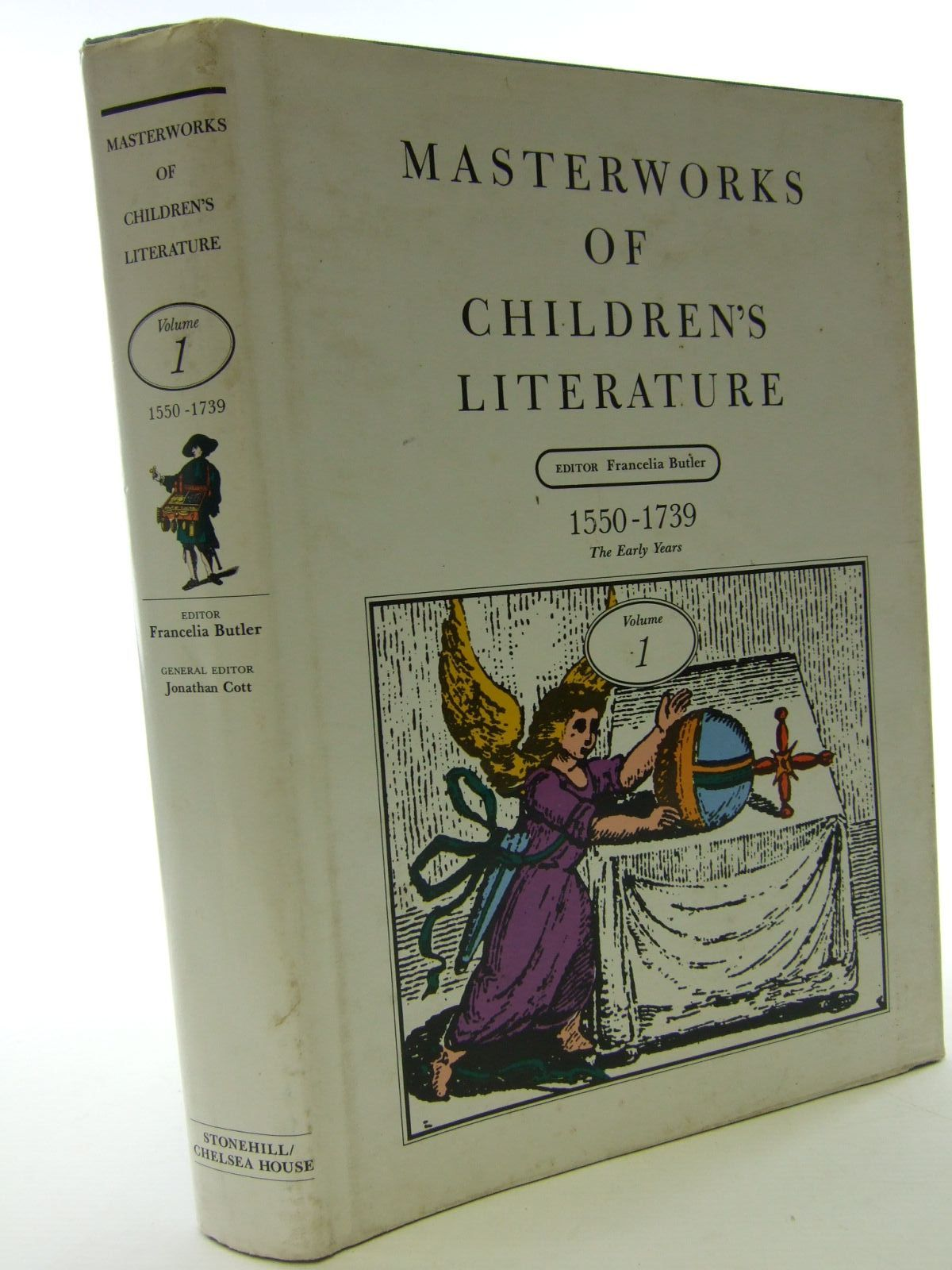 Photo of MASTERWORKS OF CHILDREN'S LITERATURE VOLUME 1 written by Butler, Francelia<br />et al,  published by Chelsea House Publishers, The Stonehill Publishing Company (STOCK CODE: 1705875)  for sale by Stella & Rose's Books