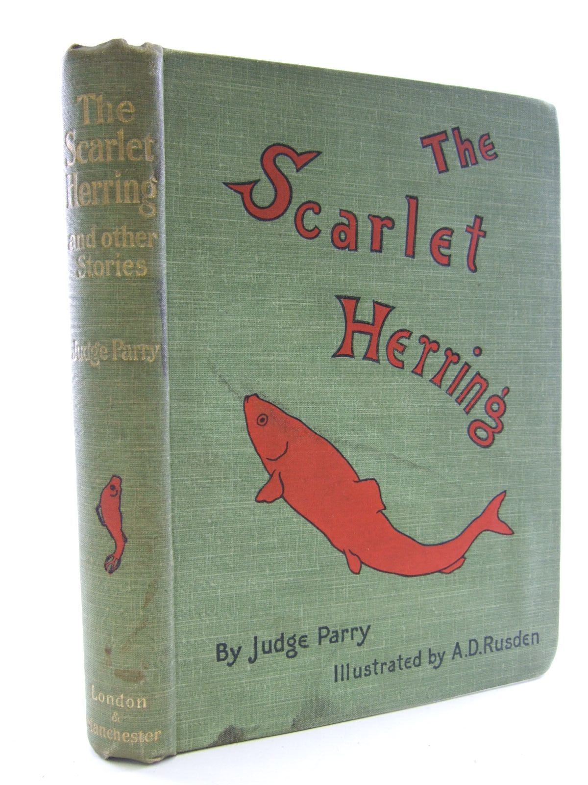 Photo of THE SCARLET HERRING written by Parry, Edward Abbott illustrated by Rusden, A. D. published by Smith, Elder & Co. (STOCK CODE: 1705911)  for sale by Stella & Rose's Books