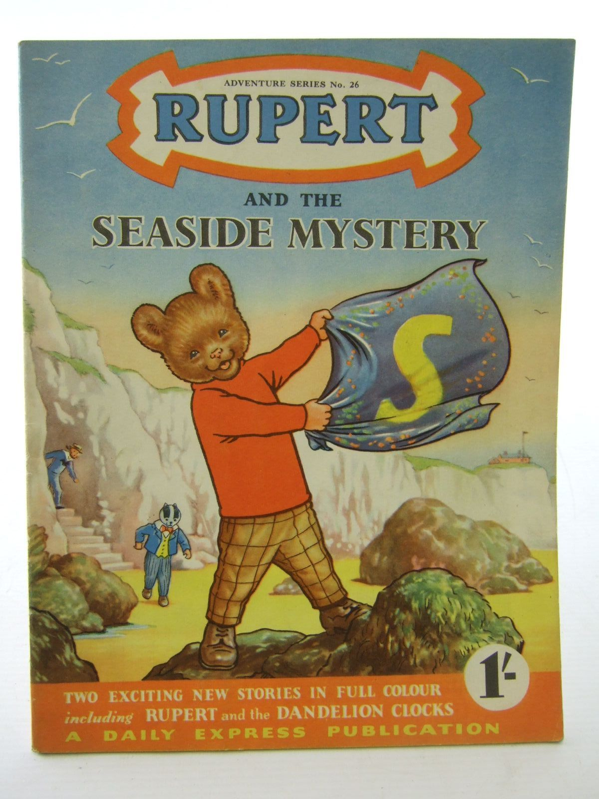Photo of RUPERT ADVENTURE SERIES No. 26 - RUPERT AND THE SEASIDE MYSTERY written by Bestall, Alfred published by Daily Express (STOCK CODE: 1706115)  for sale by Stella & Rose's Books