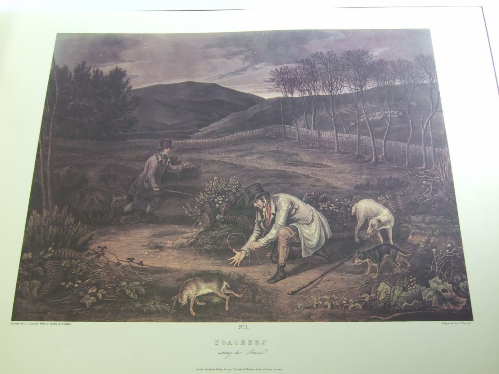 Photo of THE POACHERS PROGRESS illustrated by Blake, C.<br />Turner, C. published by Paul Harris (STOCK CODE: 1706439)  for sale by Stella & Rose's Books